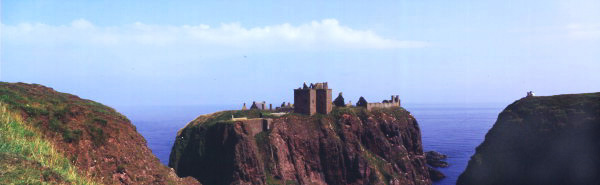 Dunnotter Castle, near Stonehaven. Built by the Keiths one of the most powerful Celtic families.