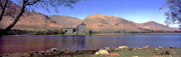 Kilchurn Castle. Major Campbell Castle situated on Beautiful Loch Awe. Visit soon for 360 Degree panoramic of this photograph.